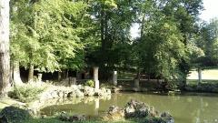 Abbaye de Joyenval - Français:   L\'abbaye de Joyenval est une ancienne abbaye desservie par les Prémontrés, qui se trouvait dans la forêt de Marly, dans le territoire de la commune actuelle de Chambourcy (département des Yvelines)