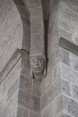 Eglise Notre-Dame-de-l'Assomption - Deutsch: Katholische Pfarrkirche Notre-Dame-de-l'Assomption (Mariä Himmelfahrt) in Boigneville im Département Essonne (Île-de-France/Frankreich), Konsole