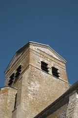 Eglise Saint-Louis - Deutsch: Katholische Kirche Saint-Louis in Boissy-le-Sec im Département Essonne (Île-de-France/Frankreich), Glockenturm