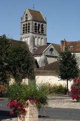 Eglise - Deutsch: katholische Pfarrkirche Saint-Barthélémy in Boutigny-sur-Essonne im Département Essonne (Île-de-France)