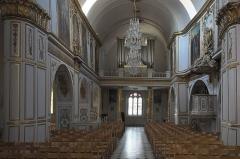 Eglise Saint-Médard - Deutsch: Katholische Pfarrkirche Saint-Médard in Brunoy im Département Essonne (Île-de-France/Frankreich), Innenraum