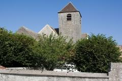 Eglise Saint-Gervais Saint-Protais -  Eglise de Courdimanche-sur-Essonne, Courdimanche-sur-Essonne, Essonne, France