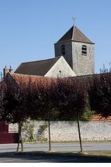 Eglise Saint-Gervais Saint-Protais -  Mairie de Courdimanche-sur-Essonne, Courdimanche-sur-Essonne, Essonne, France