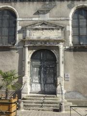Hôtel-Dieu, actuellement centre hospitalier - Français:   Hôtel-Dieu, rue de la République / rue Beaugain.