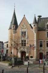 Hôtel de ville -  France Essonne Etampes l'Hôtel de ville  Photographie prise par GIRAUD Patrick
