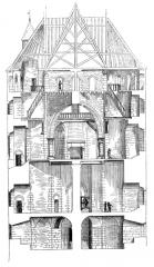 Tour Guinette -  Chateau D\'Etampes - reconstruction
