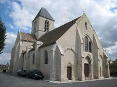 Eglise Saint-Etienne - English: Church of Étréchy (Essonne, France)