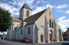 Eglise Saint-Etienne - English: Etréchy church, Essonne, France