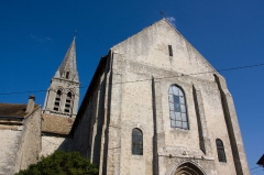 Eglise Notre-Dame -  L'Eglise de La Ferté-Alais, La Ferté-Alais, Essonne, France