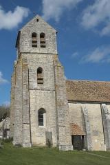 Eglise Saint-Pierre - Deutsch: Katholische Pfarrkirche Saint-Pierre in Gironville-sur-Essonne im Département Essonne (Île-de-France/Frankreich)