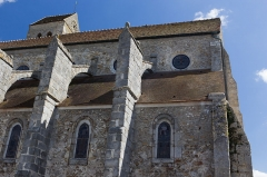 Eglise Saint-Germain-de-Paris -  Église d\'Itteville, Itteville, département de l\'Essonne, France.