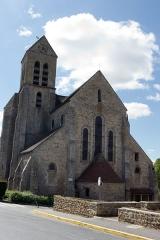 Eglise Saint-Germain-de-Paris -  Église d'Itteville, Itteville, département de l'Essonne, France.