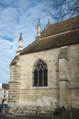 Eglise Saint-Martin - Deutsch: Katholische Pfarrkirche Saint-Martin in Longjumeau im Département Essonne (Île-de-France/Frankreich), Ansicht von Süden