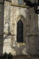Eglise Saint-Martin - Deutsch: Katholische Pfarrkirche Saint-Martin in Longjumeau im Département Essonne (Île-de-France/Frankreich), Fenster