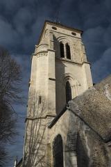 Eglise Saint-Martin - Deutsch: Katholische Pfarrkirche Saint-Martin in Longjumeau im Département Essonne (Île-de-France/Frankreich), Glockenturm