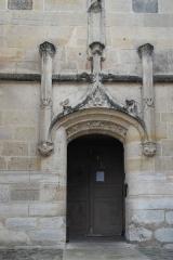 Eglise Saint-Martin - Deutsch: Katholische Pfarrkirche Saint-Martin in Longjumeau im Département Essonne (Île-de-France/Frankreich), Seitenportal