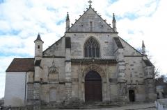 Eglise Saint-Martin - Deutsch: Katholische Pfarrkirche Saint-Martin in Longjumeau im Département Essonne (Île-de-France/Frankreich), Westfassade