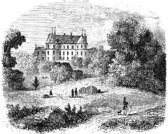 Domaine de Méréville - Français:   Château_de_Méréville_façade