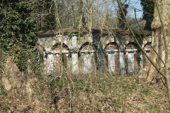 Domaine de Méréville - Deutsch: Ehemalige Mühle im Schlosspark in Méréville im Département Essonne (Île-de-France/Frankreich)