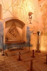 Chapelle Saint-Blaise et des Simples -  Intérieur de la chapelle Saint Blaise à Milly