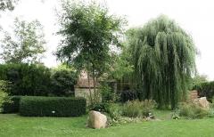 Chapelle Saint-Blaise et des Simples -  Jardin  de la chapelle Saint Blaise à Milly