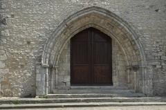 Eglise - Deutsch: Katholische Kirche Notre-Dame-de-l'Assomption in Milly-la-Forêt im Département Essonne (Île-de-France/Frankreich), Portal