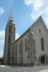 Eglise - Deutsch: Katholische Kirche Notre-Dame-de-l'Assomption in Milly-la-Forêt im Département Essonne (Île-de-France/Frankreich)