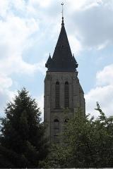 Eglise - Deutsch: Katholische Kirche Notre-Dame-de-l'Assomption in Milly-la-Forêt im Département Essonne (Île-de-France/Frankreich), Glockenturm