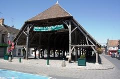 Halle -  La Halle de Milly-la-Forêt, Milly-la-Forêt, Essonne, France