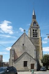 Eglise - Deutsch: Katholische Kirche Saint-Côme-Saint-Damien in Monnerville im Département Essonne (Île-de-France/Frankreich)