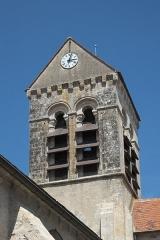Eglise - Deutsch: Katholische Pfarrkirche Saint-Germain in Saclas im Département Essonne (Île-de-France/Frankreich), Turm