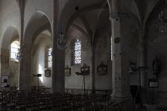 Eglise - Deutsch: Katholische Pfarrkirche Saint-Germain in Saclas im Département Essonne (Île-de-France/Frankreich), Innenraum