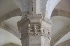 Eglise - Deutsch: Katholische Pfarrkirche Saint-Germain in Saclas im Département Essonne (Île-de-France/Frankreich), Kapitell