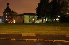 Château - Français:   Donjon de nuit