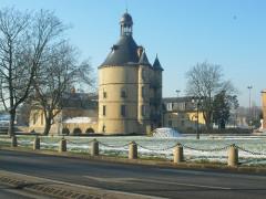 Château - Français:   Donjon Sainte Geneviève des Bois