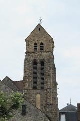 Eglise - Deutsch: Katholische Pfarrkirche Saint-Germain-d'Auxerre in Saint-Germain-lès-Arpajon im Département Essonne (Île-de-France/Frankreich), Glockenturm