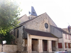 Eglise - English: Saulx-les-Chartreux church