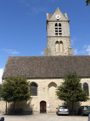 Eglise - English: Church of Videlles, Ile de France, France