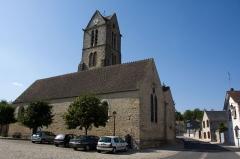 Eglise -  Eglise de Videlles, Videlles, Essonne, France