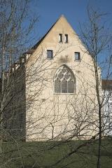 Abbaye Notre-Dame - Deutsch: Ehemalige Abtei, Abbaye Notre-Dame, in Yerres im Département Essonne (Île-de-France/Frankreich), Maßwerkfenster