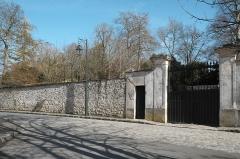 Abbaye Notre-Dame - Deutsch: Ehemalige Abtei, Abbaye Notre-Dame, in Yerres im Département Essonne (Île-de-France/Frankreich)
