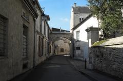 Abbaye Notre-Dame - Deutsch: Ehemalige Abtei, Abbaye Notre-Dame, in Yerres im Département Essonne (Île-de-France/Frankreich), Tor
