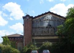 Dépôt de bois -  Gare des Carbonnets à Asnières (Hauts-de-Seine)