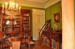 Bibliothèque Marmottan - English: Showroom in Bibliothèque Marmottan in Boulogne-Billancourt, Hauts-de-Seine department in France.