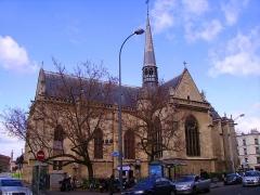 Eglise Notre-Dame-des-Menus -  Église Notre-Dame de Boulogne à Boulogne-Billancourt