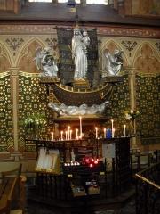 Eglise Notre-Dame-des-Menus - English: Notre-Dame de Boulogne catholic church, in Boulogne-Billancourt, Hauts-de-Seine, France.