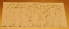 Hôtel de ville -  Bas relief dans la salle des mariages de l'hôtel de Boulogne-Billancourt.