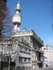 Immeuble dit Villa ou Tour Hennebique - English: Francois Hennebique's domestic house in Bourg-la-Reine