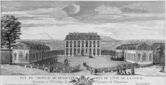 Domaine de Bellevue : ancien château -