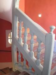 Maison d'Armande Béjart - Français:   L\'un des deux escaliers datant du milieu du XVIIe siècle.